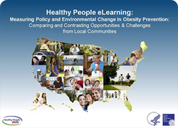 Screencap of Healthy People eLearning Webinar
