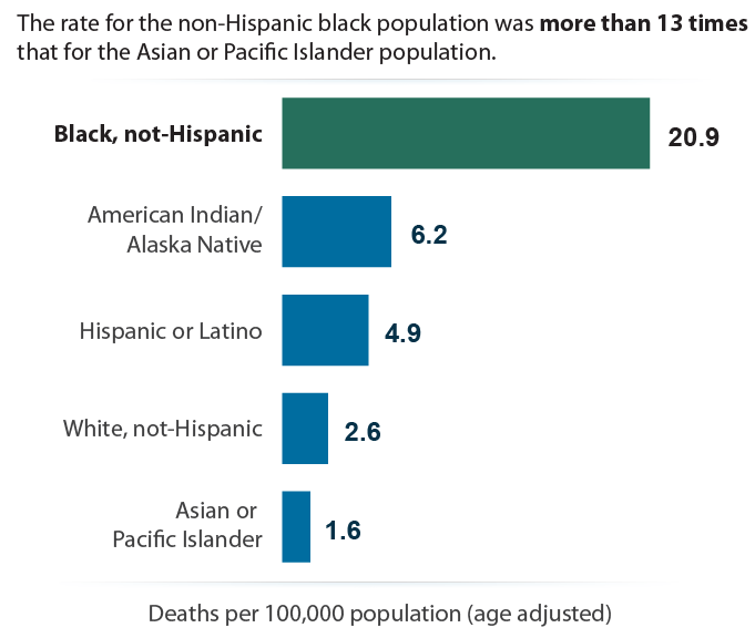 Homicides by Race/Ethnicity, 2015