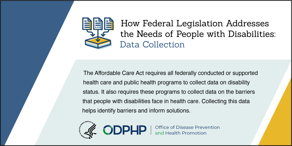 How Federal Legislation Addresses the Needs of People with Disabilities. Click to view PDF.